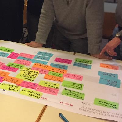 Workshop zur Umsetzung von Vorhaben in der Bürgerbeteiligung